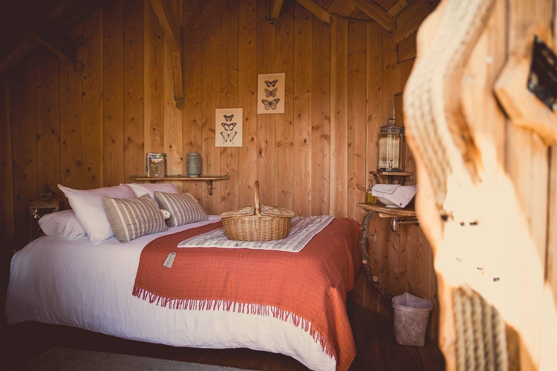 intérieur de la cabane Lapone